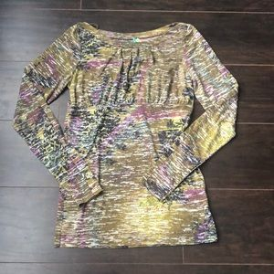 Free People | Colourful long sleeve top